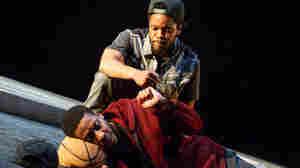Broadway's 1st Play Since COVID Closure Blends Bible, Beckett, Black Lives Matter