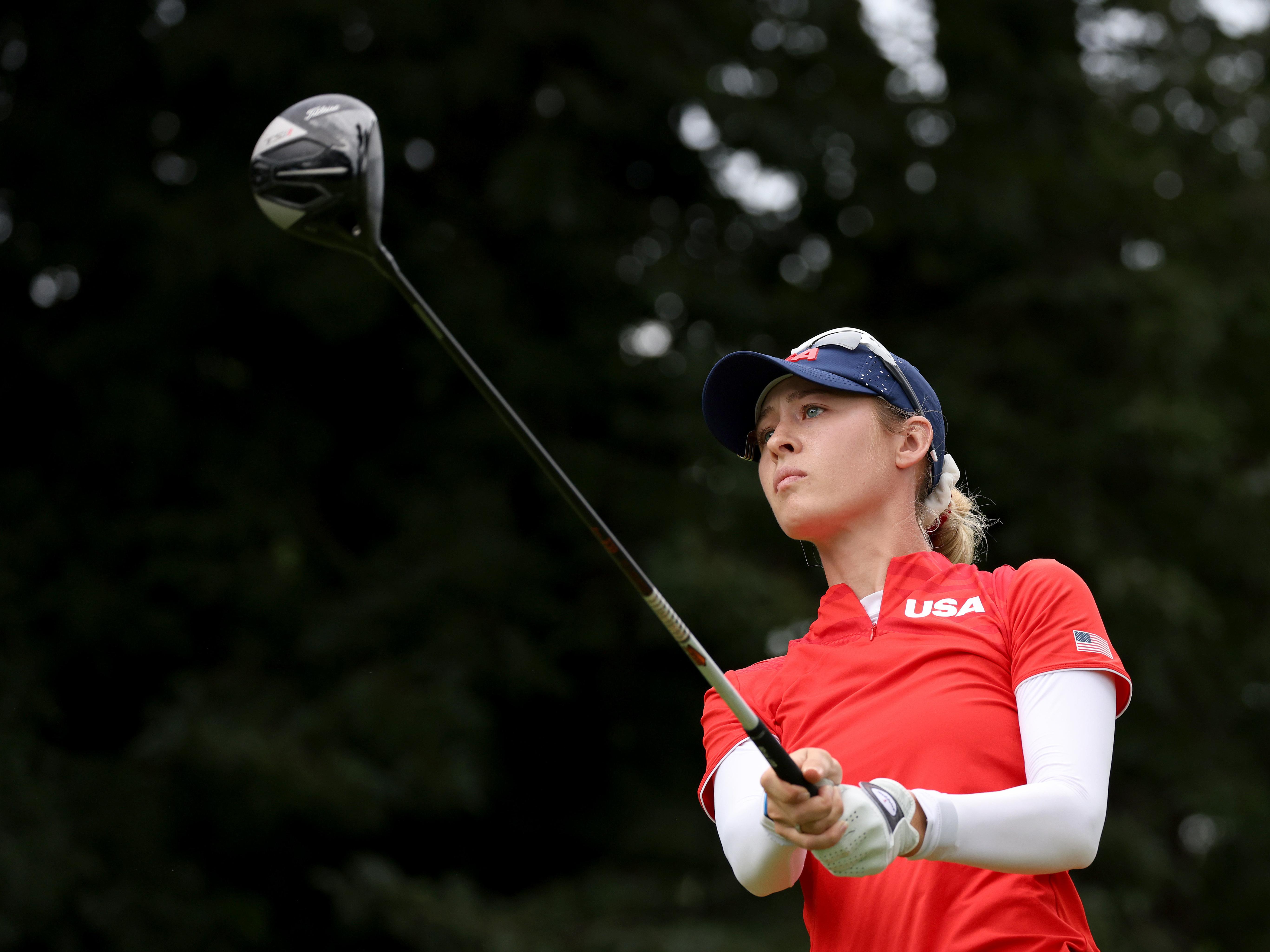 U S Golfer Nelly Korda Wins Olympic Gold Live Updates The Tokyo Olympics Npr