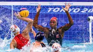 U.S. Women's Water Polo Wins Olympic Gold, Aided By A Powerhouse Goalie