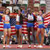 U.S. Women Win 4x400, And Allyson Felix Becomes The Most Decorated U.S. Track Athlete