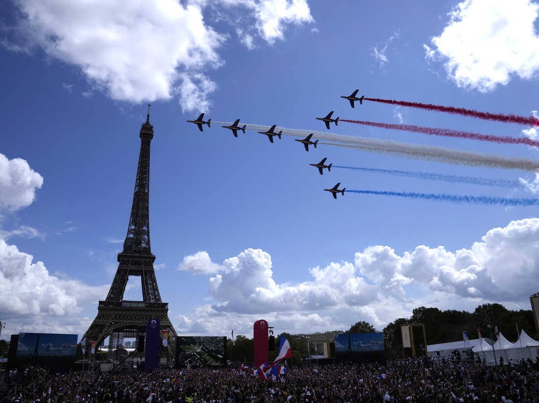 Paris Takes The Torch For The 20 Summer Olympic Games  Live ...
