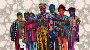 Black Lives Are Celebrated In Bisa Butler's Extraordinary, Technicolor Quilts