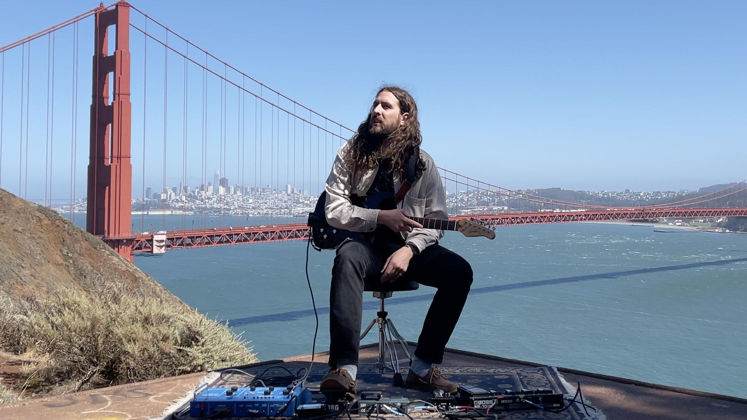 This Musician's Unlikely Duet Partner? The Golden Gate Bridge