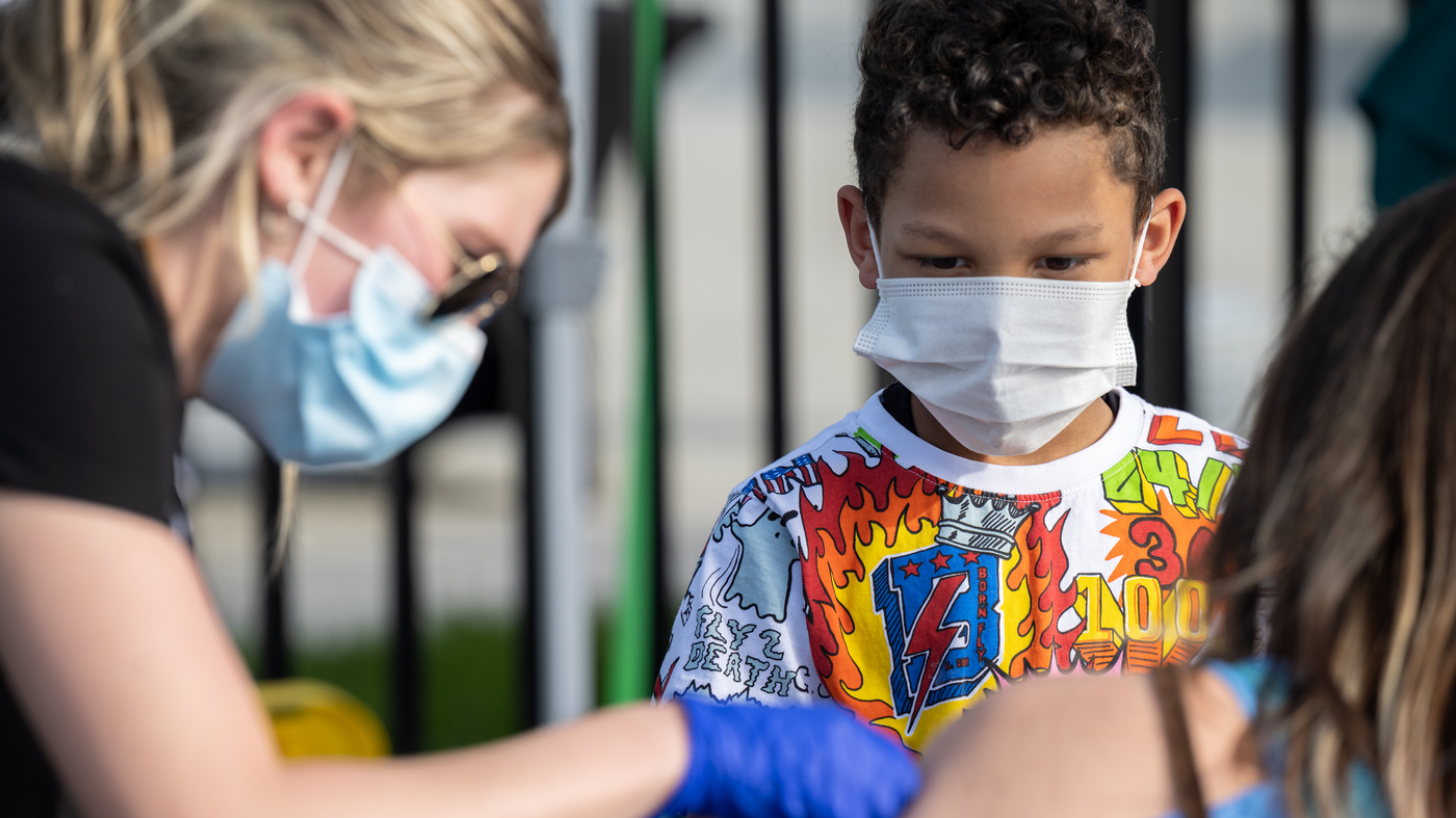 More Children Are Catching COVID-19, But It's Unclear If They're Getting Sicker : Coronavirus Updates