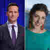 It's Double 'Jeopardy!': Mike Richards And Mayim Bialik Will Be New Hosts