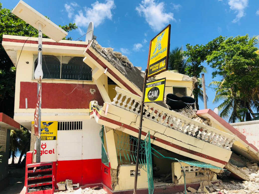 powerful Haiti Earthquake