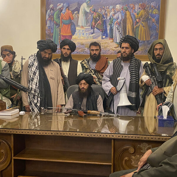 Here's What The Taliban's Leadership Looks Like In 2021