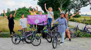 'A Beautiful Feeling': Refugee Women In Germany Learn The Joy Of Riding Bikes