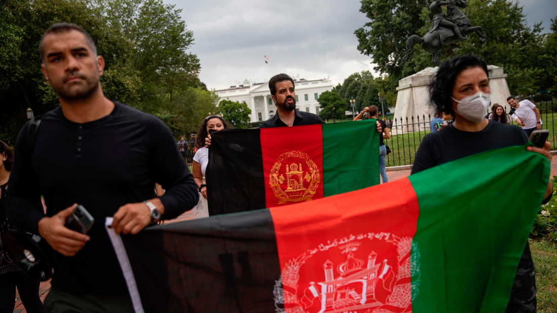Virginia, Maryland Say They'll Be A Safe Harbor For Afghan Refugees : NPR
