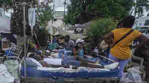 A Tropical Storm Is Drenching Earthquake-Stricken Haiti