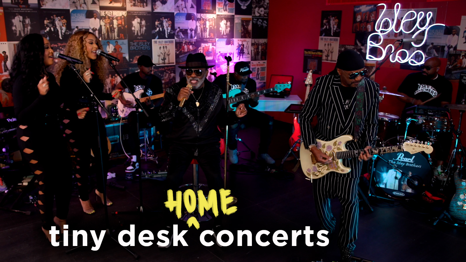 The Isley Brothers Tiny Desk (home) concert