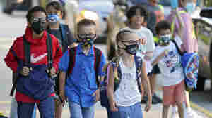 In Florida, Texas And Arizona, Defiant School Leaders Are Sticking With Mask Mandates