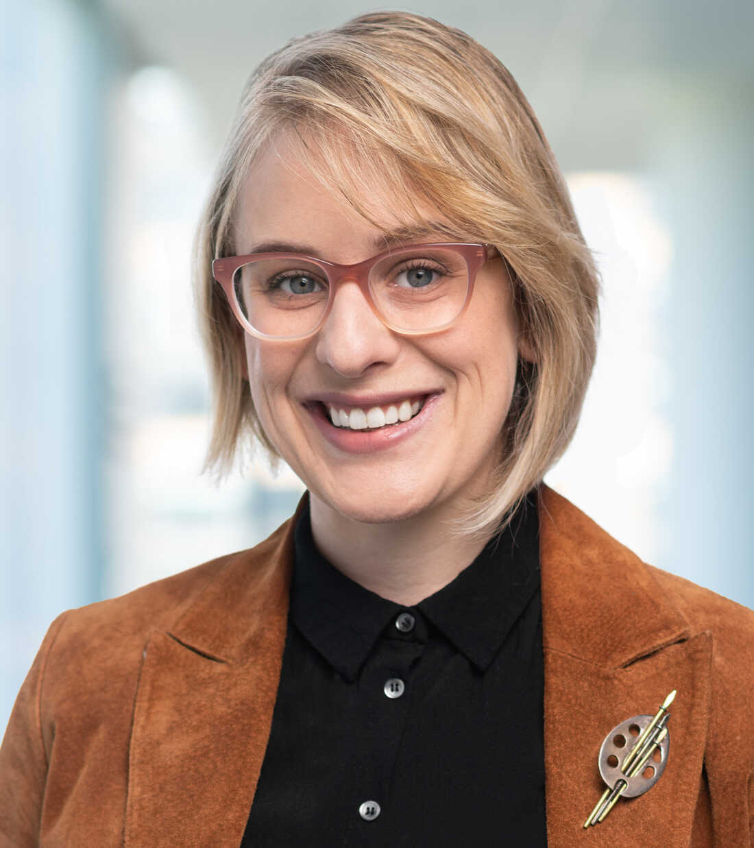 Lindsay Johnson, photographed for NPR, 22 January 2020, in Washington DC.
