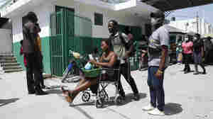 At A Local Hospital In Haiti's Hard-Hit Southwest The Injured Continue To Arrive
