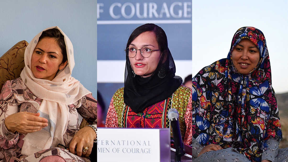 Female Afghan Politicians Are Risking Everything For Their Homeland : NPR