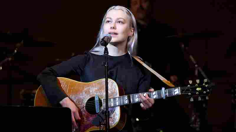 Phoebe Bridgers performs in New York City on Feb. 26, 2020.