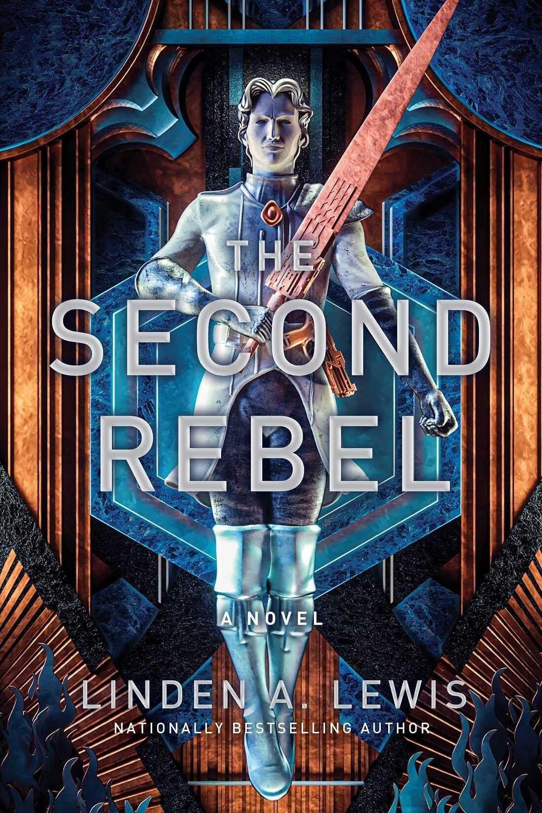 The Second Rebel, by Linden Lewis