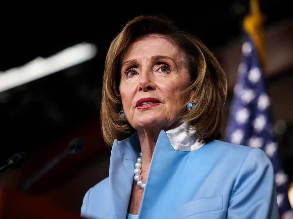 House Speaker Nancy Pelosi, D-Calif., is working to keep moderates and progressives on the same page to move two separate bills — an infrastructure bill and a broader spending package. (Anna Moneymaker/Getty Images)