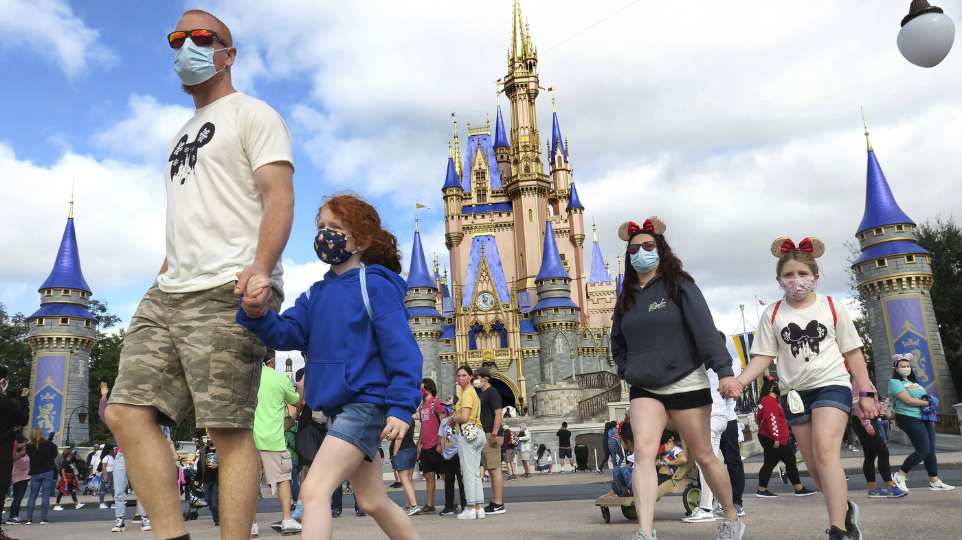 Disney World Has An Agreement To Require Union Workers To Be Vaccinated
