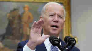 Biden Says The U.S. Is On Pace To Leave Afghanistan By The Aug. 31 Deadline