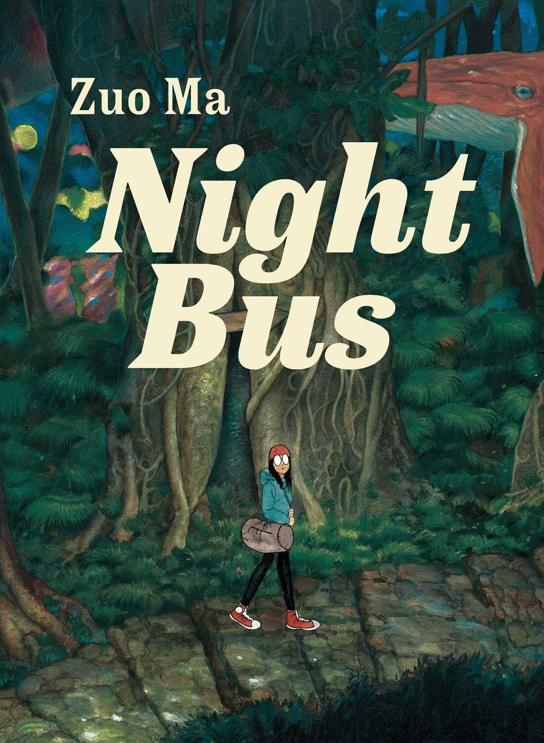 Night Bus, by Zuo Ma