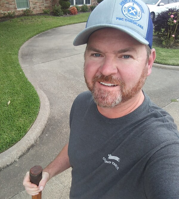 Texas Pastor Danny Reeves plans to share his own dire experience with COVID-19 with his congregation and encourage everyone who's eligible to get vaccinated.
