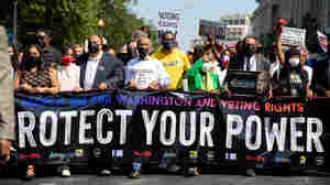 Thousands March In D.C. For Voting Rights