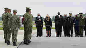 With Biden Looking On, The Remains Of 13 Service Members Killed In Kabul Return Home