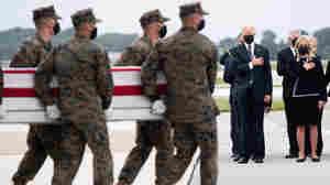 Biden Honors U.S. Service Members Killed In Kabul