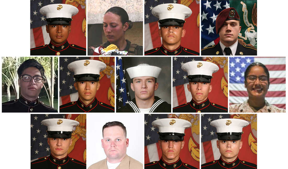 13 U.S. Service Members Killed In The Kabul Attack