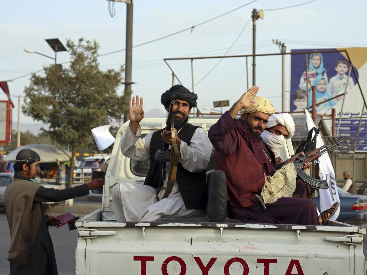 Taliban celebrating: NPR