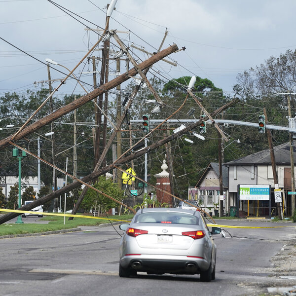 It Will Take 6 Weeks To Return Power To Jefferson Parish After Ida Hit, Official Says