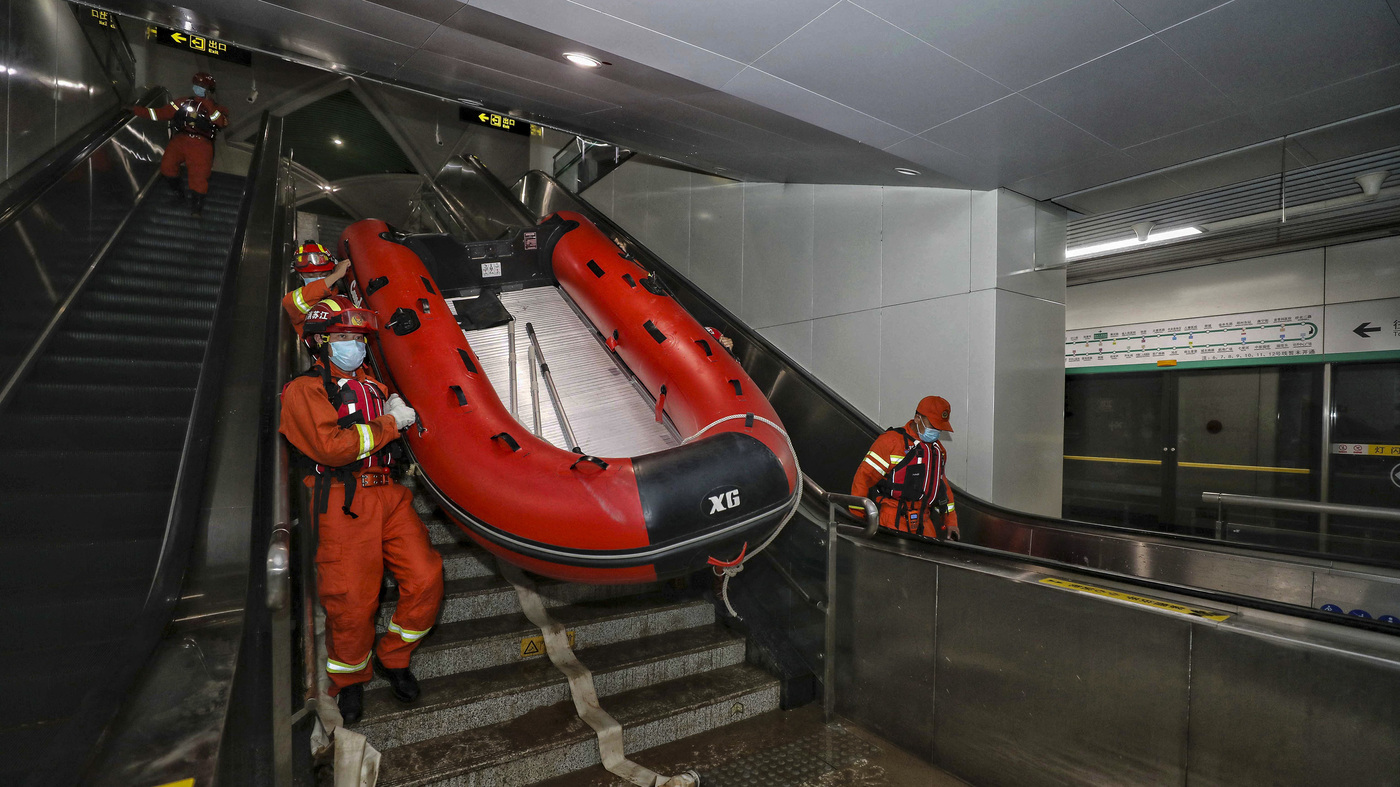 NYC's Subway Flooding Isn't A Fluke. It's The Reality For Cities In A Warming World