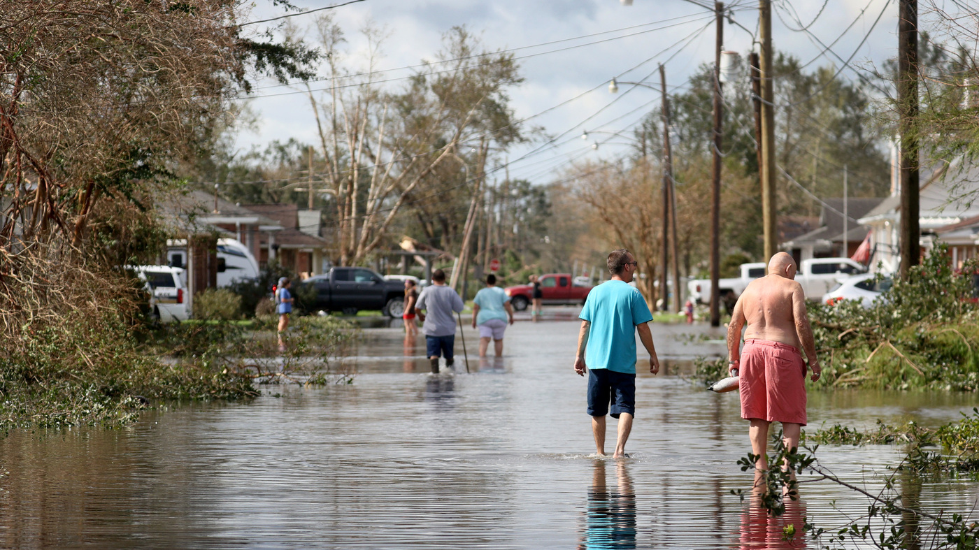As Ida Weakens, More Than 1 Million Gulf Coast Homes And Businesses Are Without Power