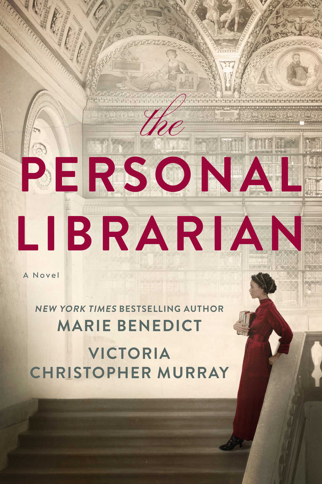 The cover of The Personal Librarian