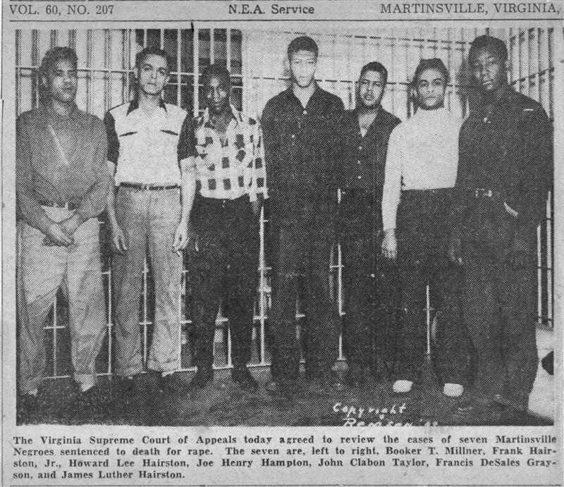 7 black men who were executed in Virginia now pardoned: NPR