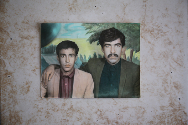 Colorized photographs found in a box of old photographs from Afghanistan. Tinting photographs was popular in Afghanistan even after the first practical color processes became available, as it was often a cheaper and simpler alternative.