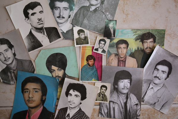Uncollected or duplicate photographs found in boxes and drawers in backrooms of Kabul's photo studios speak of generations of Afghans who visited the city's photo studios.