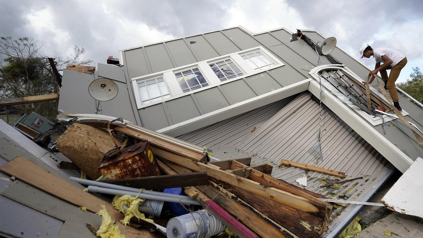 Photos: Hurricane Ida Hit Louisiana's Coastline Hard Leaving Serious Damage – NPR