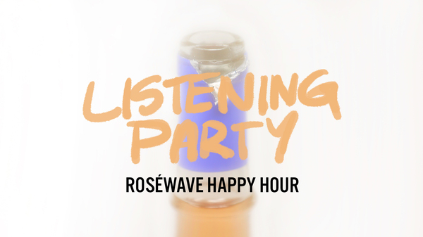 Join NPR Music's Roséwave Happy Hour For Summer's End
