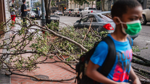 Hurricane Ida has closed schools for more than 250,000 students across Louisiana.