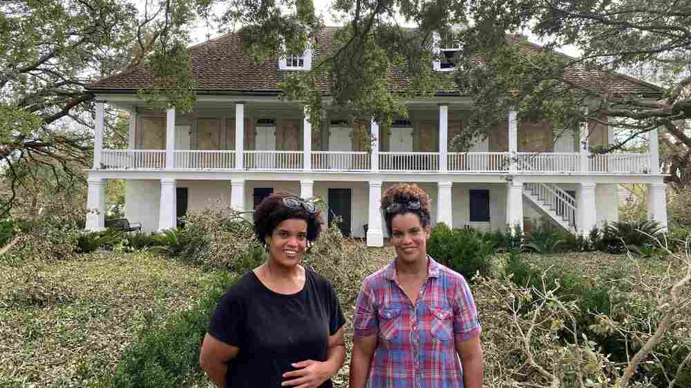 Descendants Of The Enslaved Sheltered From Ida In A Historic Plantation's Big House