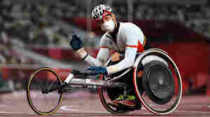 His Wheelchair Was Found Damaged Before The Race. Then He Set A Paralympic Record