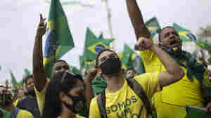 Brazil's Bolsonaro Rallies His Followers Against The Courts In A Major Demonstration