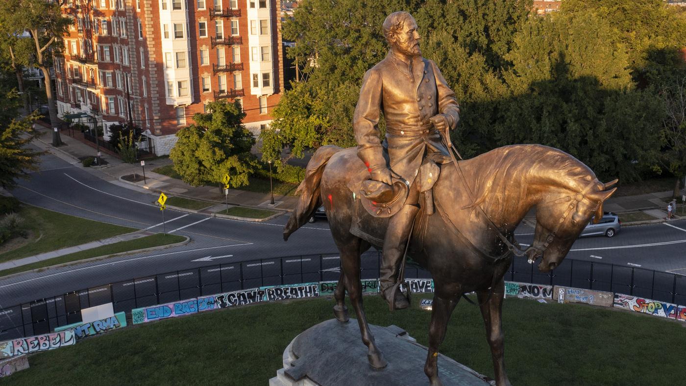 Richmond Va.'s Robert E. Lee Confederate Memorial To Come Down – NPR
