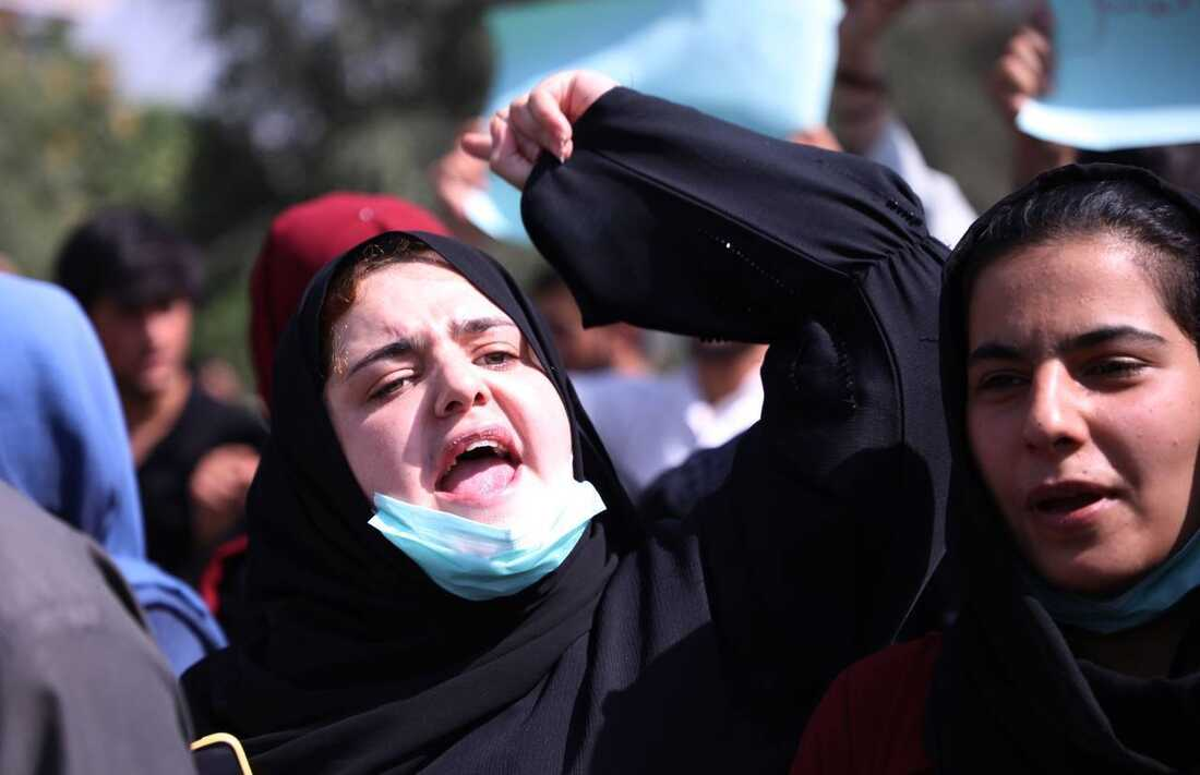 Photos: Afghan Women Are Protesting For Their Rights 7