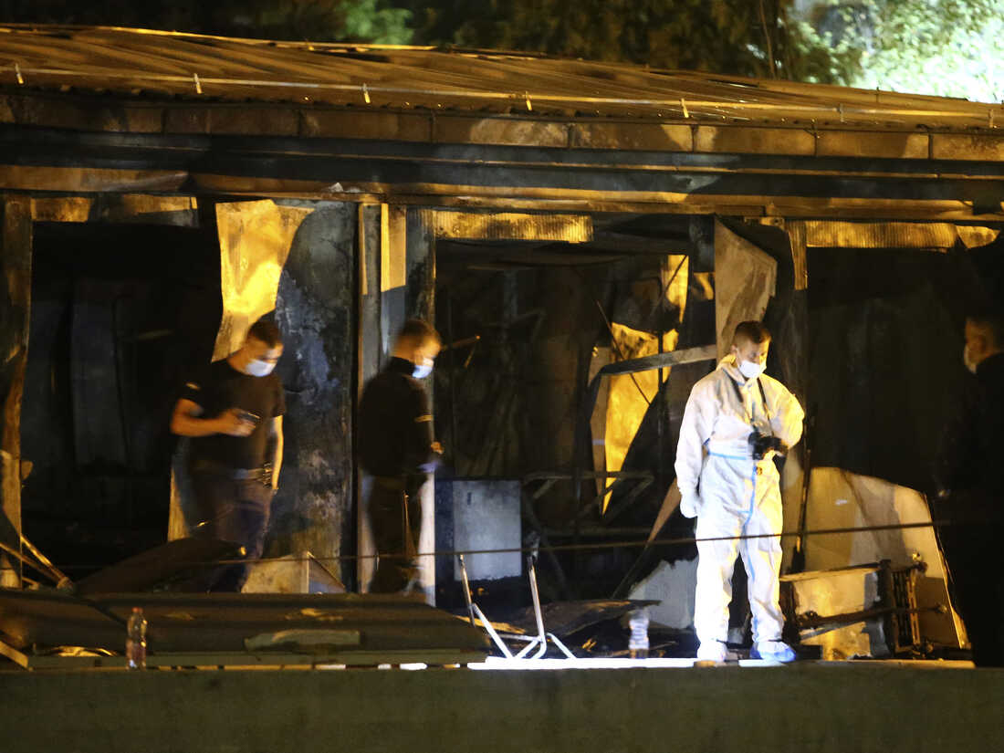 A Fire At A Field Hospital Set Up To Treat COVID-19 Patients Kills 14 People 2