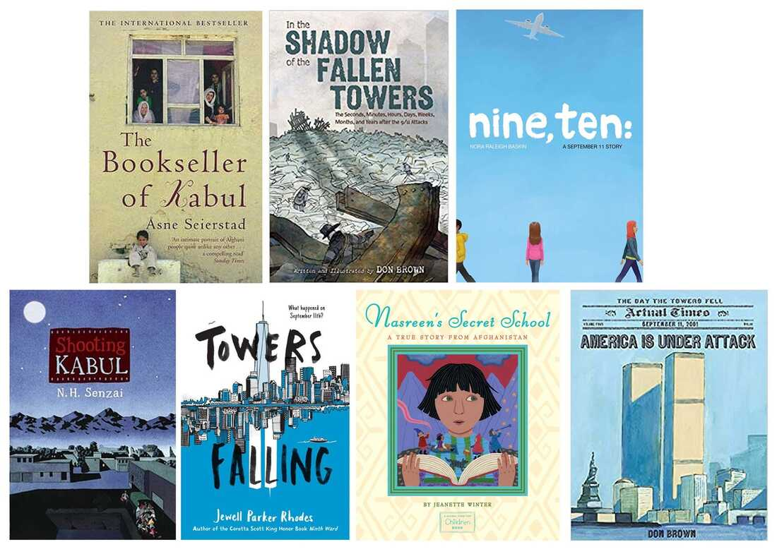 Books for middle-grade readers to help better understand what happened on 9/11.