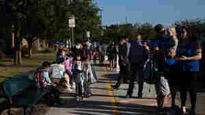 Biden Dangles New Federal Funds For Schools That Defy Mask Mandate Bans