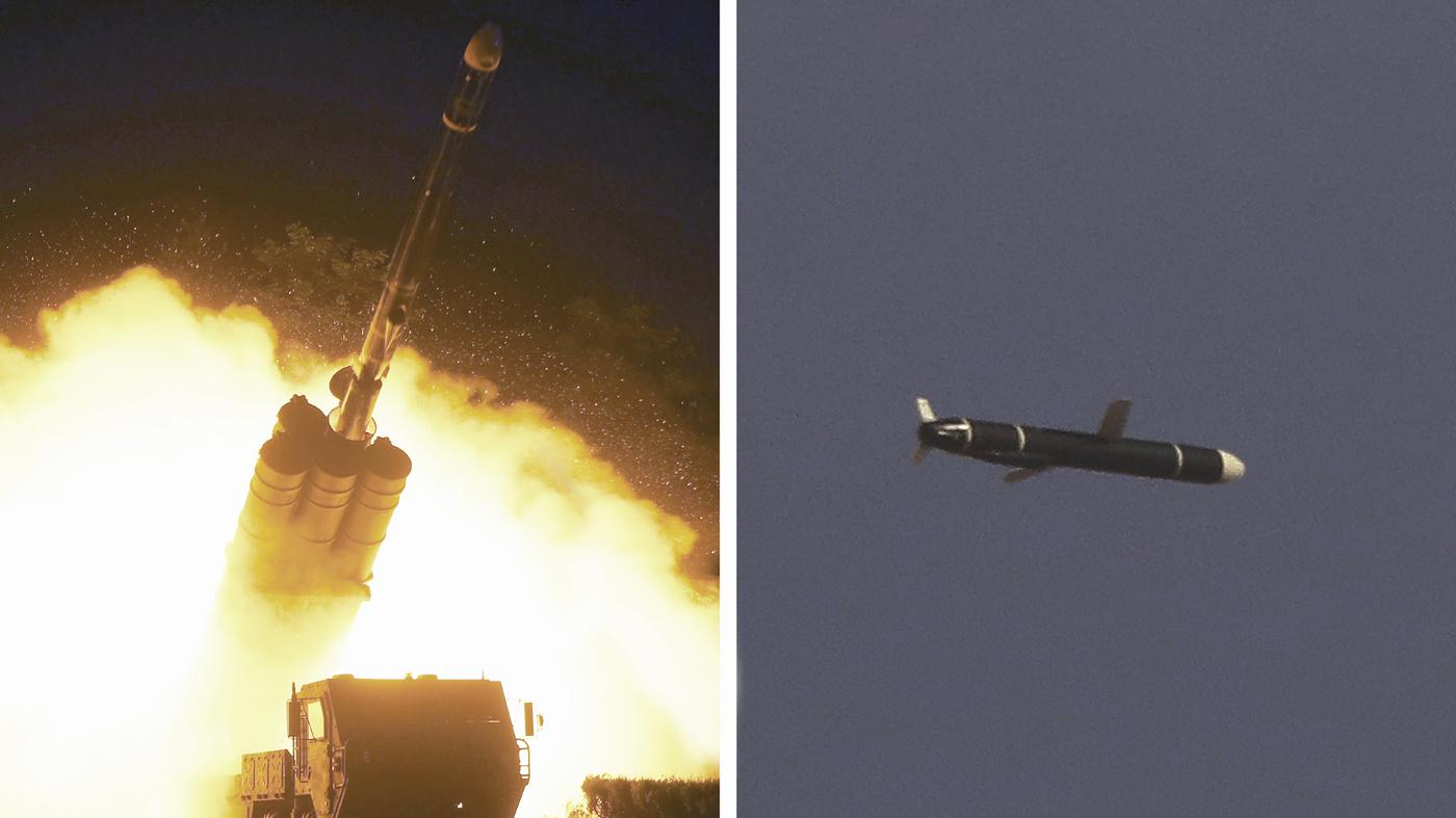 North Korea Says It Test-Fired New Long-Range Missiles – NPR